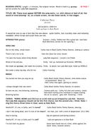 BICKERING SPRITES VIDEO SCRIPT C.PAVER.doc