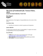 The Curse of Frankenstein KS3 English .pdf