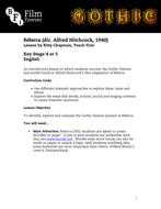 Rebecca - KS4/5 English Lesson 1