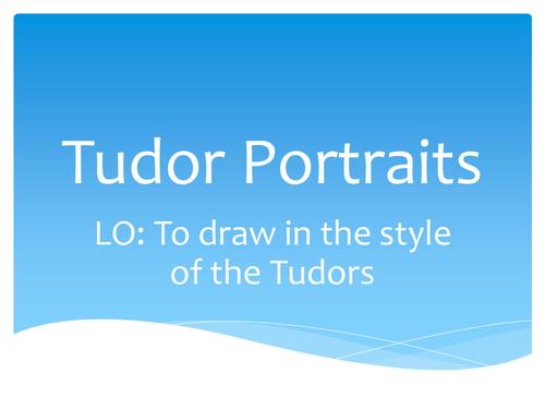 how to draw a tudor arch