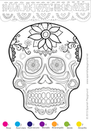 Día de los Muertos - Calavera by ali20 - Teaching Resources - Tes