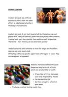 GCSE drugs lesson Edexcel exam board