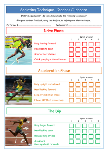 Athletics Task Cards By Tom Greg88 Teaching Resources Tes