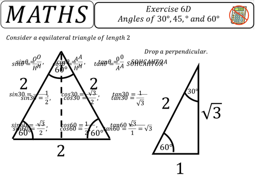 Triangles of 30,45 and 60 degrees proofs.pptx