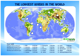 The world's longest rivers