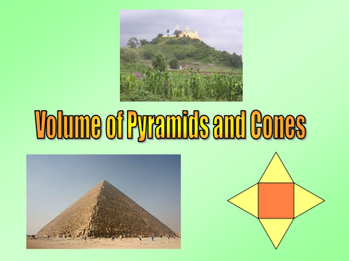surface area of pyramids and cones worksheet pdf