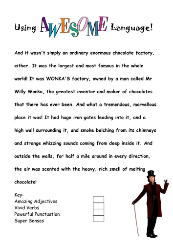 Charlie and the Chocolate Factory - SoW by PaulStaveley - Teaching ...