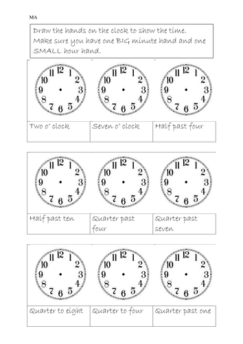 Time Worksheets : elapsed time worksheets within the hour ~ Free ...