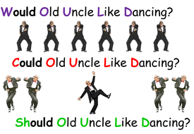 Would Old Uncle Like Dancing mnemonic Comic Sans.pptx