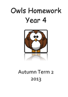 Year 4 homework term 2.pdf