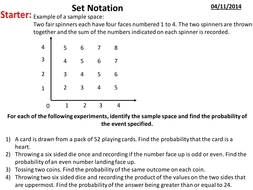 set notation introduction to venn diagrams by charlottemay89
