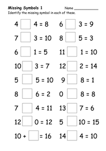 missing number worksheet: NEW 712 MISSING NUMBER WORKSHEETS EARLY YEARS