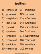 Year 6 Spellings Aut001 powerpoint - words and dictation sentences.pdf