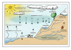 The water cycle lesson plan resources by poleyjo teaching the water cycle postercx ccuart