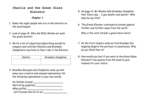 Guided Reading comprehension questions by JeeBee Teaching – Joe and Charlie Worksheets