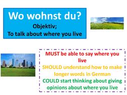Wo wohnst du