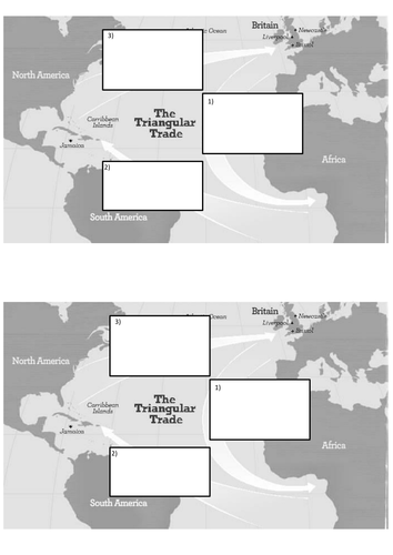what was the triangular trade by maxblackburn teaching resources tes. Black Bedroom Furniture Sets. Home Design Ideas
