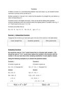 Evaluating Functions Worksheet   Teaching Resources