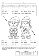 Reading Comp Christmas Colouring -  EYFS and KS1
