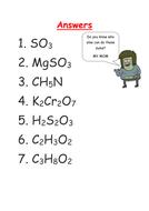 Empirical Formula Worksheet by kashifmd - Teaching Resources - Tes