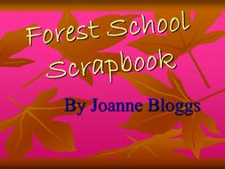 Forest School Scrapbook - Example 2.pdf