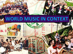IB music - world music in context week 1