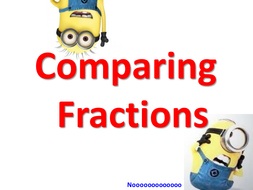 Minions: Comparing fractions