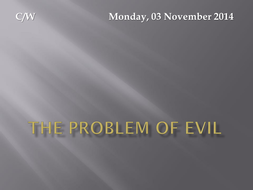 The problem of evil.pptx