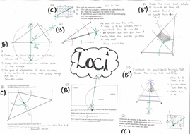 gcse loci questions by neon2 teaching resources tes. Black Bedroom Furniture Sets. Home Design Ideas