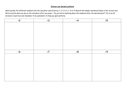 Fraction and decimal worksheets by vicbobmac1 - Teaching Resources ...