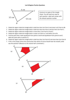 loci practice sheet triangles by frickard uk teaching resources tes. Black Bedroom Furniture Sets. Home Design Ideas