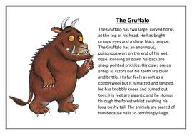 Writing a good character description ks2