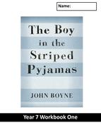 Boy in the Striped Pyjamas Workbook LOW ABILITY