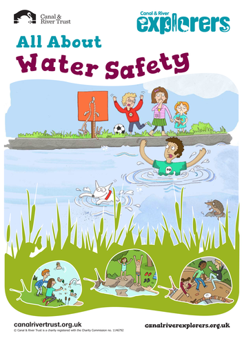 Printables Water Safety Worksheets water safety by canalandrivertrust teaching resources tes
