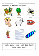 Phonics Phase 3 Practice Worksheets By Mflx4eb2 Teaching Resources