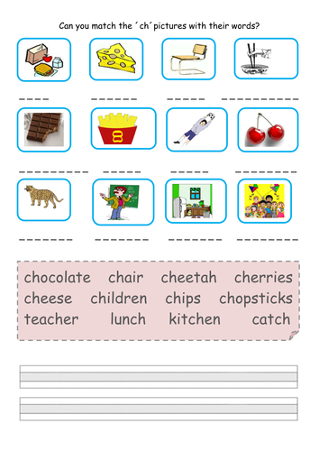 Phonics Phase 3 Practice Worksheets Teaching Resources