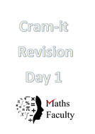 Cramit revision booklets - for grade D/C students