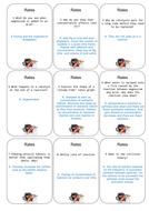 AQA Chemistry C2 Quiz-Quiz trade and Pacman game
