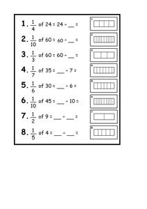 new 620 fraction of a quantity worksheet tes fraction worksheet. Black Bedroom Furniture Sets. Home Design Ideas