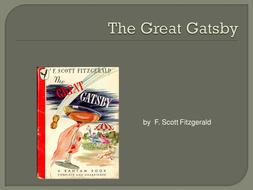 the great gatsby powerpoints by aspiringteacher95 teaching