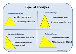 types of triangles and their properties pdf