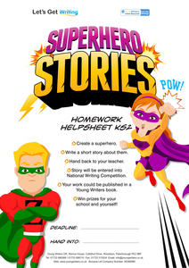 What is a narrative essay on the day i became a superhero