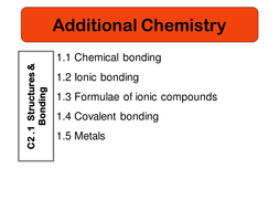 C2.1 Structures and bonding.ppt