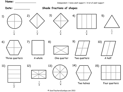 Pre School Worksheets math worksheets fractions pdf Free – Pdf Math Worksheets