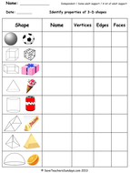 Year 3 Maths Worksheets from Save Teachers Sundays