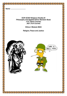 Ethics B604 War, Peace and Justice revision booklet.doc