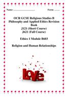 Ethics 1  B603  relationships revision booklet.doc