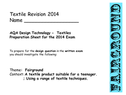 AQA Exam Design Question