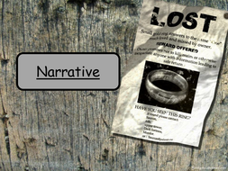 Narrative Writing for WJEC Controlled Assessment