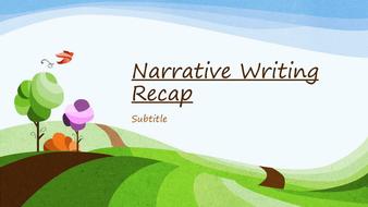 Narrative Writing Recap.pptx